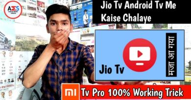 How To Install Jio Tv App In Android Tv    Mi Tv 4a Pro Play On Jio Tv App