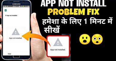How to fix app not installed problem permanently new | trick 2019