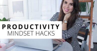 Productivity Hacks For Entrepreneurs - Change Your Mindset & Get More Done! // Kimberly Ann Jimenez