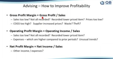 Profitability -- Analyzing & Advising Clients - QB Power Hour