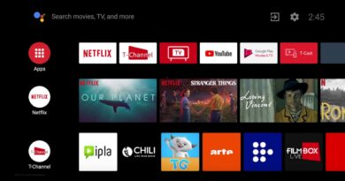 TCL Android TV - Apps