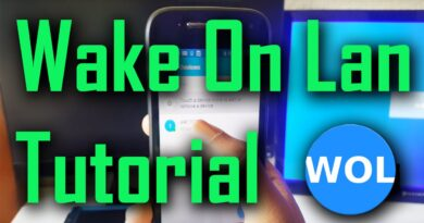Wake On Lan - Android App Tutorial