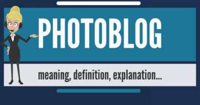 What is PHOTOBLOG? What does PHOTOBLOG mean? PHOTOBLOG meaning, definition & explanation