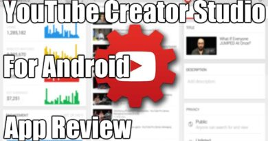 YouTube Creator Studio For Android App Review