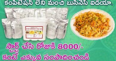 start trending food business | small business ideas in telugu | Nidhi - Telugu Business Ideas