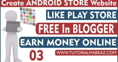 03 Create Android Apps Store Website on Blogger | Complete Blogging Course 2019 by Mentor Online