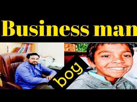 10 years old boy Business man in Pakistan