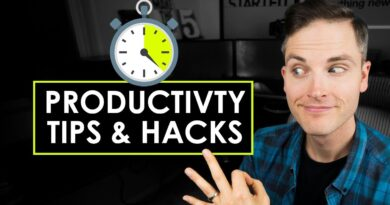 3 Productivity Hacks and Tips for Entrepreneurs