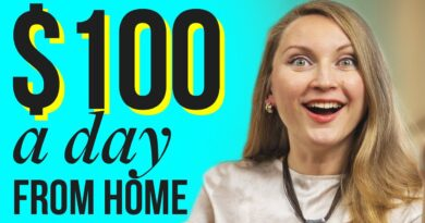 7 HIGH PAYING WORK AT HOME JOBS THAT PAY OVER $100/DAY OR MORE!
