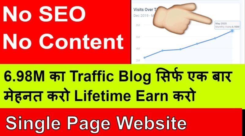 Best 2 Blogging Niche Ideas | No Content / No SEO | Start Blogging In 2020 & Earn Money Online
