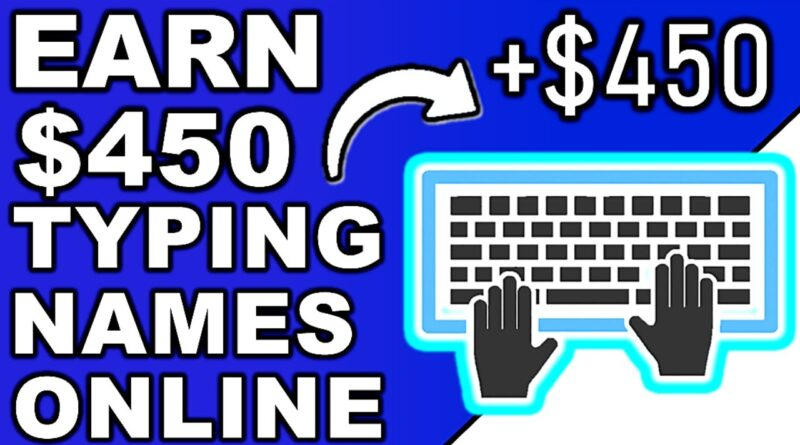 Branson Tay | Earn $450 Daily Typing Names Online (NEW RELEASE) Make Money Online
