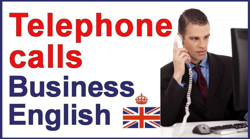 Business English - Telephone calls