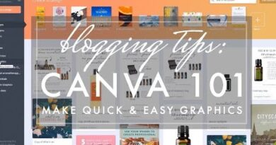 Canva for Bloggers 101 // How to Create Professional Blog Graphics Quickly & Easily