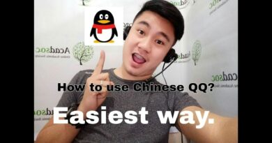 Chinese QQ tutorial (Tagalog) with share Video with sounds