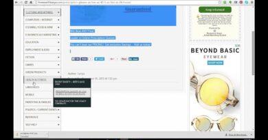 """Complete Step by Step """"Link Posting"""" Blogging Site Set Up PART 4"""