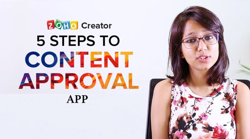 Content Review & Approval App | Creating apps for beginners with no code