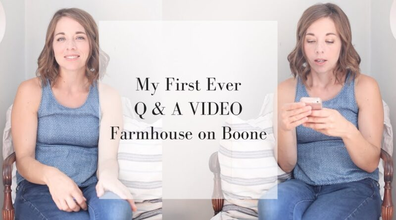 Do we want more kids? How do I stay motivated?? | Q AND A VIDEO WITH FARMHOUSE ON BOONE