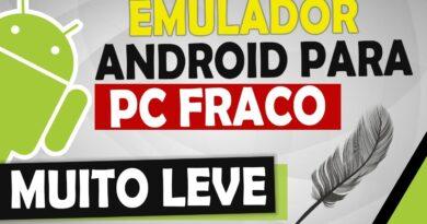 Emulador de Android para PC fraco Leve (Muito Bom)