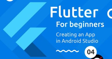 Flutter Tutorial for Beginners #4 - Creating a Flutter App in Android Studio