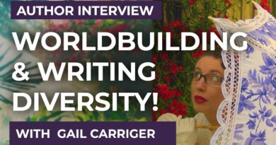 Gail Carriger - writing & worldbuilding advice from the Parasol Protectorate Queen! ❤