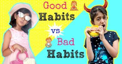 Good Habits vs Bad Habits | #ShrutiArjunAnand #Sketch #Fun #MyMissAnand