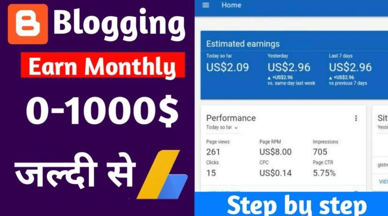 (Hindi) Earn More Money From Blogging For Blogger Or Wordpress In Hindi