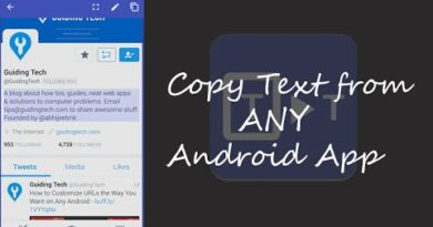 How to Copy & Paste Unselectable Text from Any Android App | Guiding Tech