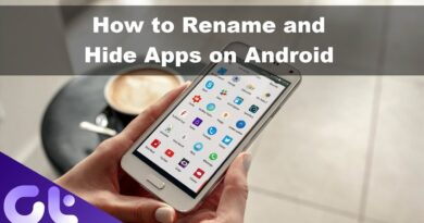 How to Hide Android Apps by Changing Name and Icon Without Root | Guiding Tech