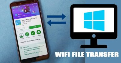 Find out how to Share Information From Android to PC Wi-fi Switch - 2018 🚀 7