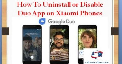 How to Uninstall or Disable Duo App from Xiaomi Phones