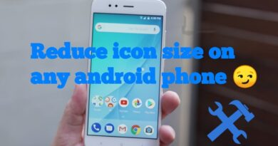 How to change Mi A1 or any supported Android phone Icon Size without Rooting your phone!!!