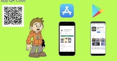 Kids Learning Tube App NOW AVAILABLE on ANDROID and APPLE Download from QR code or the links below