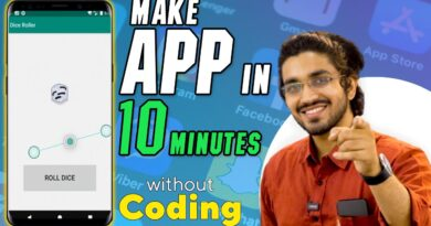 Make your first app in 10 minutes | For noobs | Android development |