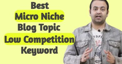 Micro area of interest weblog subjects & finest concepts for web site🔥Low competitors key phrases checklist (Hindi) 7