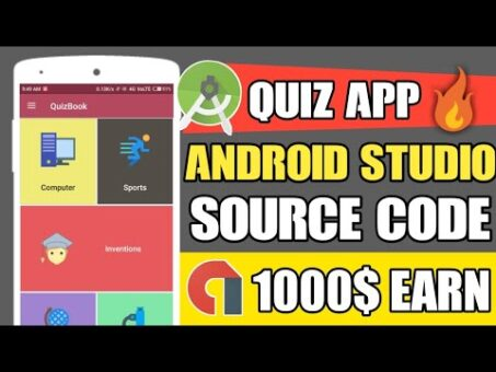 Professional Quiz App Source Code || FREE Android Studio App Source Code