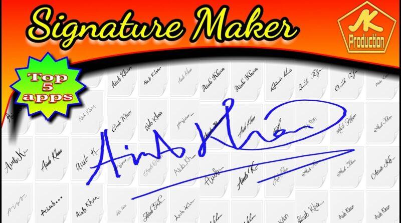 Signature Maker (Top 5 apps)