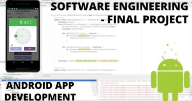 Software Engineering Final Project - Android App Development