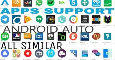 Some useful apps for Android Auto (many are similar) HINDI