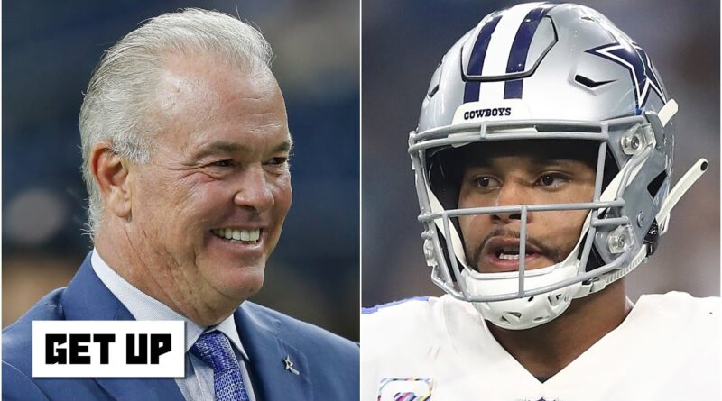 Stephen Jones still believes the Cowboys will get a deal done with Dak Prescott | Get Up