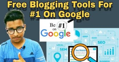 Top 5 Blogging Tools For #1 On Google | Best Tools For SEO 2018-19 | And Giveaway Wp-Rocket