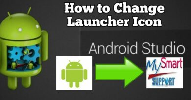 how to change launcher icon of android app from default to custom using android studio