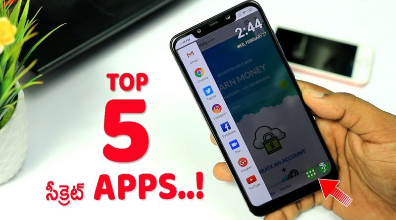 5 New Secret Android Applications On Play Store | Super Android Apps 2019