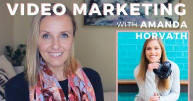 5 Tips For How to Use Video for Business with Amanda Horvath