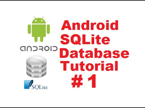 Android SQLite Database Tutorial 1 # Introduction + Creating Database and Tables (Part 1)