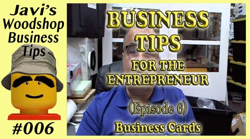 Biz Tips E06 - Proper Use & Design of Business Cards