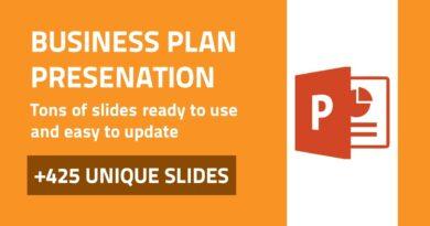 Business Plan - Best PowerPoint Presentation Template