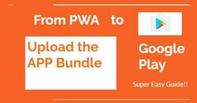 Convert PWA to Android App - 6 - Upload the App Bundle to Google Play Store
