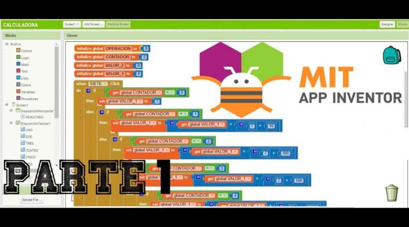Crear una Aplicacion Android Sencilla con MIT App Inventor