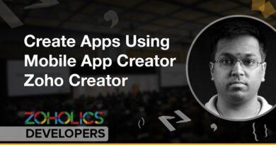 Create Apps Using Mobile App Creator - Lakshman Ganesan