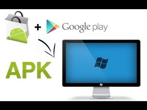 Descargar apps android apk de Google Play directamente en la PC y transferirla a su dispostivo